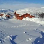 Gåavstand til hyttene