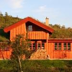 Moderne hytter